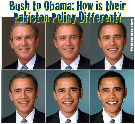 bush obama