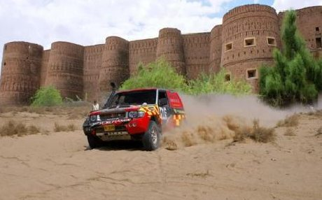Cholistan, Pakistan, Jeep Rally