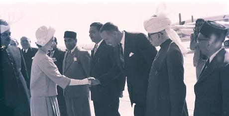 Queen England Elizabeth Visit Pakistan
