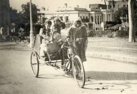 Women work Lahore rickshaw labor labour