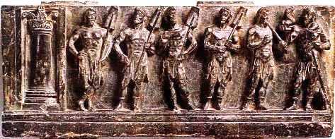 GreekBoatmenMarineDietyTritonDio 2 Hellenistic and Parthian Gandhara