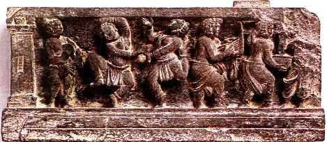 GreekBoatmenMarineDietyTritonDionys Hellenistic and Parthian Gandhara