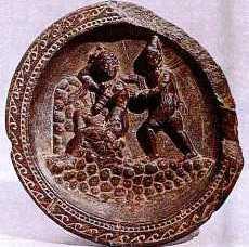 SchistDishesdepictingApolloDephn 2 Hellenistic and Parthian Gandhara