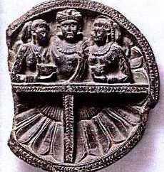 SchistDishesdepictingApolloDephn 3 Hellenistic and Parthian Gandhara