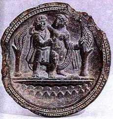 SchistDishesdepictingApolloDephn 4 Hellenistic and Parthian Gandhara