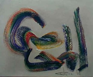 Ismail Gulgee Caligraphy painting