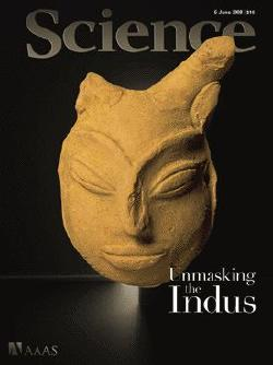 Cover, Science June 6 2008, Unmasking the Indus