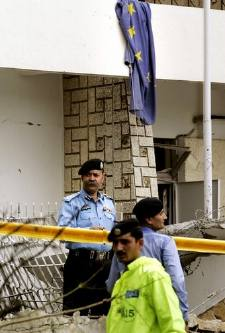 Suicide Attack on Danish Embassy in Islamabad, Pakistan