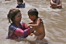 Canal, Pakistan, Lahore, heat wave