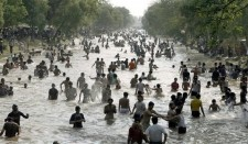 Canal, Pakistan, Lahore, heat wave