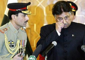 Musharraf Drops his Uniform