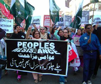 People's Resistance movement in Pakistan
