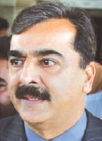 Pakistan Prime Minister Yousuf Raza Gillani