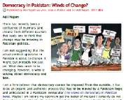 ATP on Democracy Winds of Change