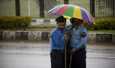 Police Pakistan Monsoon