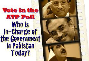 Yousuf Raza Gillani, Asif Ali Zardari, Pervez Musharraf