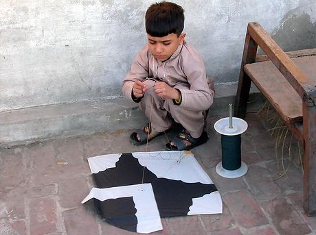 Kite flying Pakistan