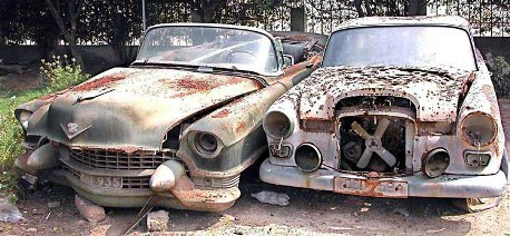 Picture Of The Day Whose Cars Are Rotting In Pakistan All