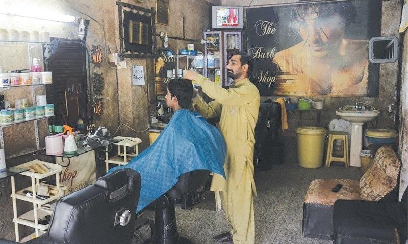 Karachi hair cut